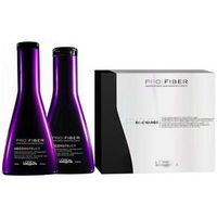Loreal Pro Fiber Reconstruct Shampoo ( 250ml ) , Condicionador ( 200ml ) e Ampola Re - Charge ( 6x20ml )