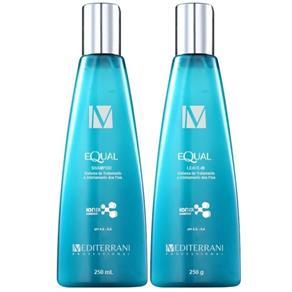 Mediterrani Equal System Kit Shampoo ( 250ml ) e Leave - in ( 250g )