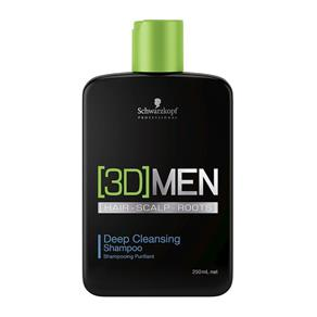 Shampoo Anti Oleosidade Deep Cleansing 3D Men 250ml