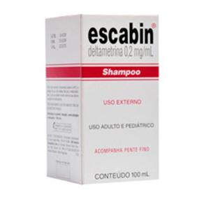 Shampoo Escabin 100Ml