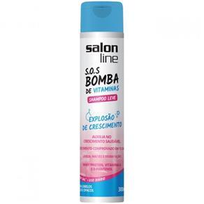 Shampoo Leve S.O.S Bomba 300ml Salon Line