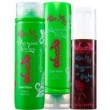 Sweet Hair Kit Shampoo+Condicionador +Modelador Cachos Kiss Me 250ml+150ml