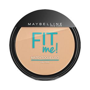 Pó Compacto Maybelline Fit Me ! Oil Free 110 Claro Real