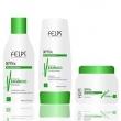 Felps Xmix Kit Manutenção Shampoo, Condicionador e Máscara Extrato de Bamboo