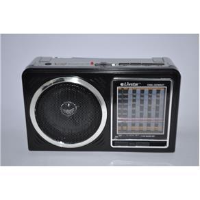 RADIO 11 BANDAS AM / FM / SW / USB / SD COM LANTERNA BIVOLT