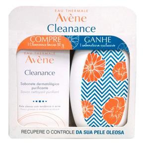 Sabonete Em Barra Avène Cleanance + Saboneteira