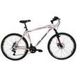 Bicicleta Aro 26 Aluminio Duplo Freio a Disco 21 Marchas Branca branco