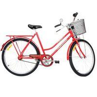 Bicicleta Aro 26 Monark Tropical com Freio Inglês - Vermelha