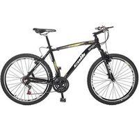 Bicicleta Aro 26 MTB Suspensão Dianteira Freios V - Brake Preta - Colli preto