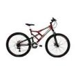 Bicicleta Aro 29 21v Shimano Status Big Evolution Dupla Suspensao vermelho