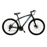 Bicicleta AZONIC cambios Shimano aro 29 freio a disco 21v - AZUL - Quadro 17 azul royal