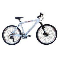 Bicicleta Cannon Aro 26 MTB 21 Marchas Kit Shimano Yamada Freio a Disco - XTR branco