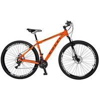 Bicicleta Colli Aro 29 MTB 21 Marchas Shimano Suspensão Dianteira Freios á Disco laranja