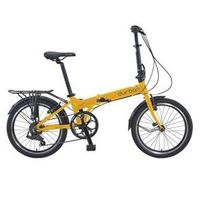 Bicicleta Dobrável 7 Marchas Amarela - Bay Pro - Durban
