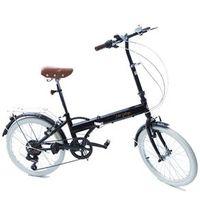 Bicicleta Dobrável Fenix - Marcha Shimano 6 Veloc. - Black preto