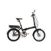 Bicicleta Elétrica Dobrável Sense S310E Easy Preta Brilhante