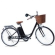 Bicicleta Eletrica Pegasus - Marcha Shimano 6 Vel. - Black preto