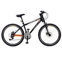 Bicicleta Fischer Extreme Aro 26 com 21 Marchas Preto / Laranja