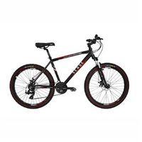 Bicicleta MTB SENSE Extreme 26x18 Kit Shimano Preto Vermelho vermelho