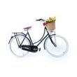 Bicicleta Vintage Isis Feminina - Marcha Shimano - Black preto