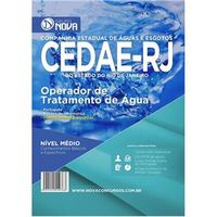 CEDAE - RJ 2016 - Operador de Tratamento de Água