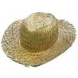 Chapéu De Palha Desfiado amarelo