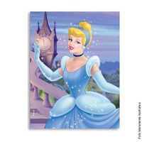 Convite Pequeno Cinderela Convite Pequeno Cinderella