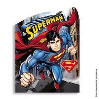Convite Pequeno Superman