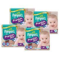 Fralda Pampers Premium Care Pacotão Tamanho M com 96 Unidades