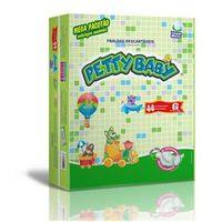 Fralda Petty Baby - Mega Pacotão G - 264 Unidades + Toalhinha Umedecida Petty Baby 50 unidades