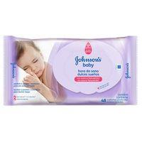 Lenços Umedecidos Johnson`S Baby Hora Do Sono C / 48 Unidades