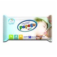 Toalhinha Umedecida Papegu Baby 50 Unidades - 1 Pacote