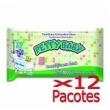Toalhinha Umedecida Petty Baby 100 Unidades - 12 Pacotes
