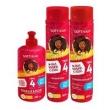 Soft Hair Cachos #Que volume é esse Shampoo 300ml, Condicionador 300ml e Creme de Pentear 280ml