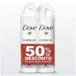 Kit Desodorante Aerosol Dove Invisble Dry 89g 2 Unidades