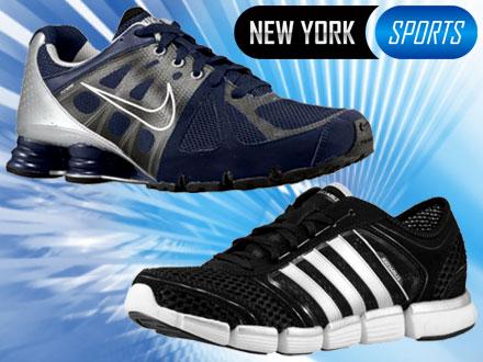 CRÉDITO para a compra de Tênis e Chuteiras Nike, Mizuno, Adidas e Puma na New York Sports, de 70,00 por apenas 12,99.
