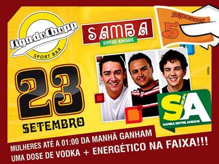 05 Entradas para a noite de Sexta Feira 23/09, na Liga do Chopp, de 75,00 por 22,50. Curta a melhor balada de Botucatu!!!