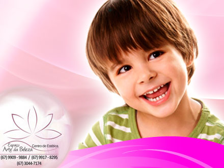 Corte de Cabelo Infantil ou Juvenil (Masc. ou Fem.), no Centro de Estética Espaço Arte da Beleza, de 25,00 por 11,00.