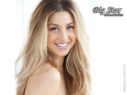 Você super fashion! Ombré Hair ou Californianas na Big Star, por apenas 69,90.