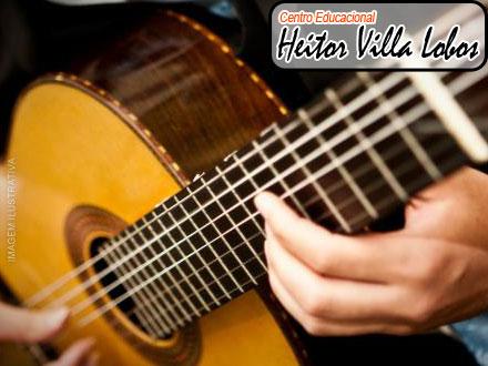 1 Mês de Aulas de Violão no Centro Educacional Heitor Villa Lobos, de 100,00 por apenas 19,90.