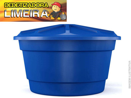 Limpeza de Caixa D´agua de até 1000 Litros na Dedetizadora Limeira, de até 150,00 por apenas 39,90.