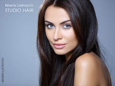 Plástica Capilar + Corte na Renata Carvalho Studio Hair, por apenas 39,90. Cupons limitados!