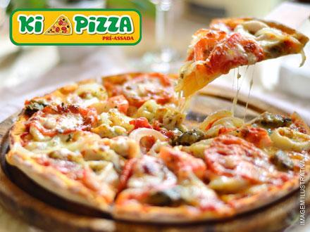 Duas Pizzas Pré Assadas - Tamanho Convencional - no Ki Pizza, por apenas 21,90. São mais de 45 sabores!