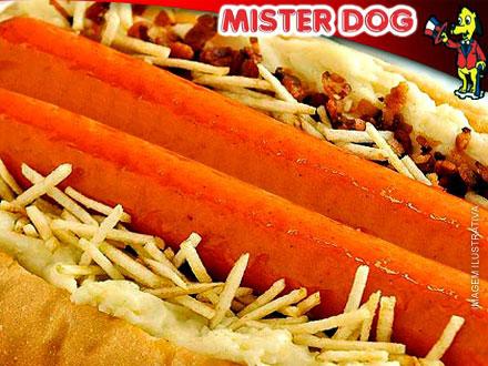 MISTER DOG agora também na Av. Campinas! Oferta de inauguração! Mister Dogão (2 Salsichas + 9 Ingredientes), por apenas 5,99.