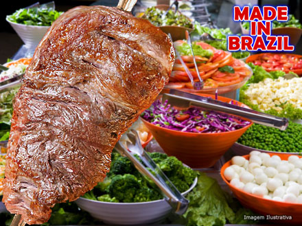 Almoço Self-Service Individual à Vontade com Churrasco + Mesa de Frios + Saladas na Choperia Made In Brazil, por 14,90.