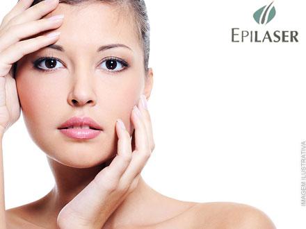 Cuide bem da sua pele na Epilaser! Higienização + Esfoliação + Peeling Químico + Vitamina C + Fluido Revitalizante, por 35,00.