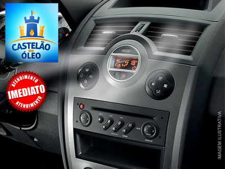 Higienização de Ar Condicionado Automotivo no Castelão do Óleo, por 29,90. Válido para todos os veículos. Exceto caminhões!