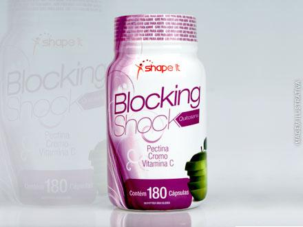 Emagreça sem precisar mudar sua dieta! Bloqueador de Gorduras e Regulador Intestinal Blocking Shock, a partir de 49,90.
