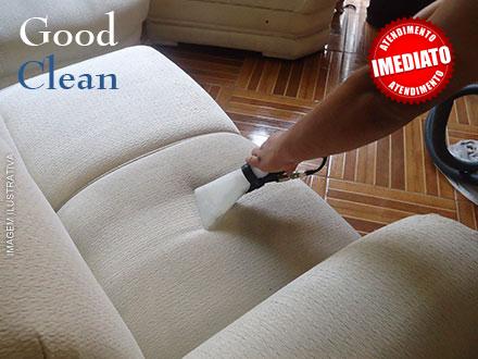 Lavagem e Higienização de Estofados de 3 e 2 Lugares na Good Clean, de 140,00 por apenas 69,90.