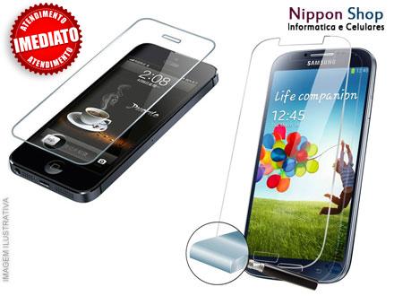 Película de Vidro para Celular + Aplicação na Nippon Shop Informática e Celulares, por apenas 19,90.